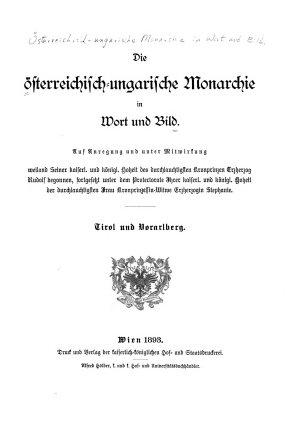 Die   sterreichisch ungarische Monarchie in Wort und Bild PDF
