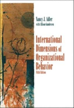 International Dimensions of Organizational Behavior PDF