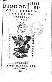 Diodori Sicvli Bibliothecae Historicae Libri XVII.
