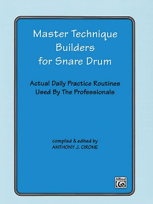 Master Technique Builders for Snare Drum PDF