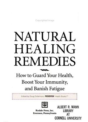 Natural Healing Remedies