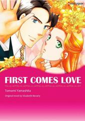 FIRST COMES LOVE: Harlequin Comics