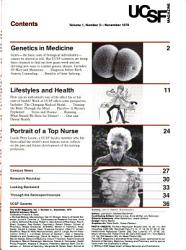 Ucsf Magazine Book PDF