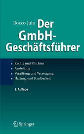 Der GmbH-Geschäftsführer: Rechte und Pflichten, Anstellung, Vergütung und Versorgung, Haftung und Strafbarkeit, Ausgabe 2