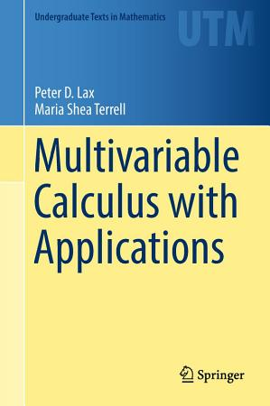 Multivariable Calculus with Applications PDF