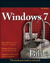 Windows 7 Bible: Edition 3
