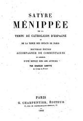 Satyre Ménippée de la vertu du catholicon d'Espagne et de la tenue des estats de Paris