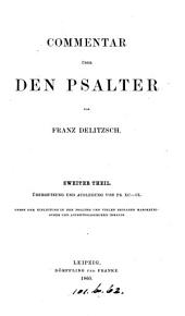 Commentar über den Psalter: Band 2