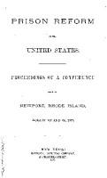 PRISON REFORM IN THE UNITED STATES  PDF