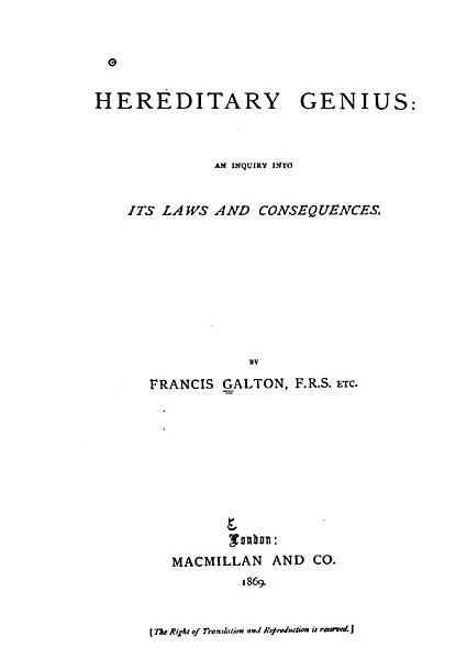 Download Hereditary Genius Book