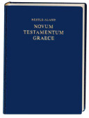 Nestle Aland Novum Testamentum Graece Book PDF