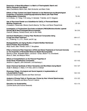 Journal Of Biobased Materials And Bioenergy