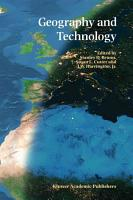 Geography and Technology PDF