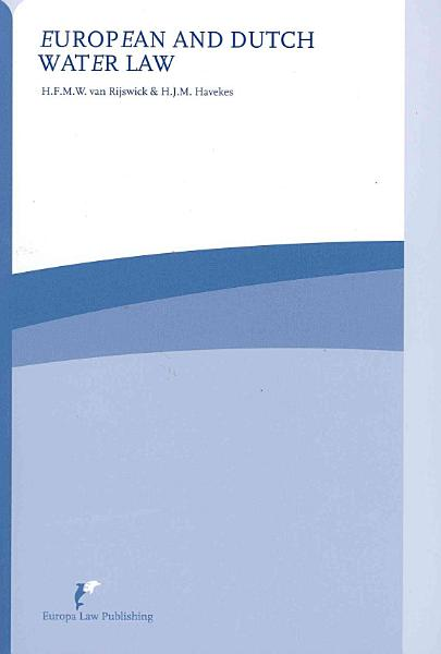 Download European and Dutch Water Law Book
