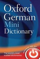 Oxford German Mini Dictionary PDF