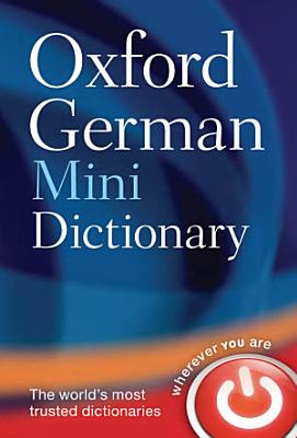 Oxford German Mini Dictionary PDF