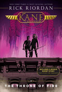 The Kane Chronicles  Book Two The Throne of Fire  new cover