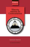 Historia m  nima de Centroam  rica PDF