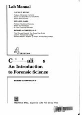 Criminalistic PDF