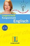 Langenscheidt Kurzgrammatik Englisch PDF