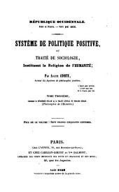 Système de politique positive: Dynamique sociale