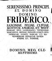 Dissertatio Iuridica, de Reconventione Clericorum in Foro Laicorum