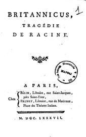 Britannicus, tragedie de Racine