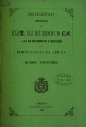 Conferencias celebradas na Academia Real das Sciencias de Lisboa ácerca dos descobrimentos e colonisações dos Portuguezes na Africa: Descobrimentos dos Portuguezes na Africa