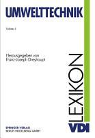 VDI Lexikon Umwelttechnik PDF