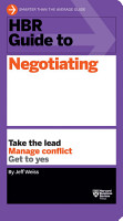 HBR Guide to Negotiating  HBR Guide Series  PDF