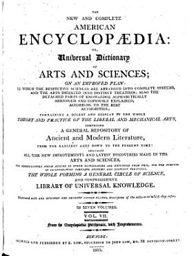 The New and Complete American Encyclop  dia  Or  Universal Dictionary of Arts and Sciences PDF