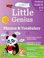 Phonics & Vocabulary II: Kindergarten Workbook (Little Genius Series)