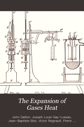 The Expansion of Gases by Heat: Memoirs by Dalton, Gay-Lussac, Regnault and Chappuis