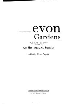 Devon Gardens PDF
