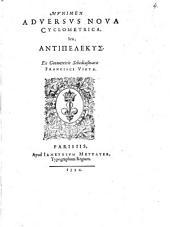 Munimen aduersus noua cyclometrica, seu Antipelekys. Ex geometricis schediasmatis Francisci Vietae