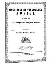 Kmetijske in rokodelske novice: Šesti tečaj 1848