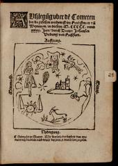 Auslegung des Cometen 1532