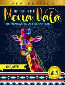 Adult Coloring Book Series MENADALA (Vol