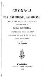 Cronaca di Fra Salimbene Parmigiano: dell' ordine dei minori, Volume 2