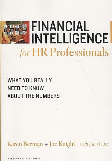 Financial Intelligence for HR Professionals PDF