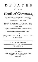 Debates of the House of Commons PDF