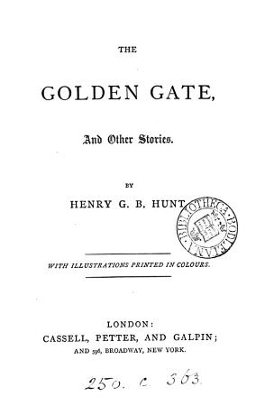 The Golden gate  and other stories PDF