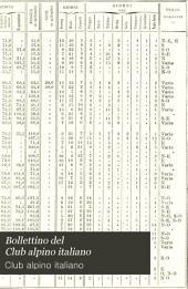 Bollettino del Club alpino italiano: Volume 14,Edizioni 41-44