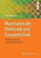 Materialien der Elektronik und Energietechnik PDF