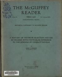 The Mcguffey Reader Book PDF