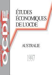Études économiques de l'OCDE : Australie 1997