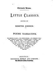 Little Classics: Poems, narrative