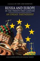 Russia and Europe in the Twenty First Century PDF