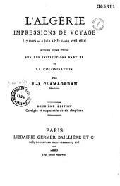 L'Algérie: impressions de voyage 17 mars - 4 juin 1873, 14-29 avril 188