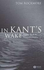 In Kant's Wake
